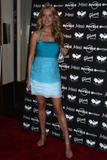 Petra Nemcova shows cleavage and legs in light blue dress at the Icons Of Music II Auction Benefit in Hard Rock Cafe NYC