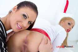[LegalPorno] [Gonzo] Gorgeous sluts Melanie Gold & Regina anal & DP orgy with 3 cocks SZ1025