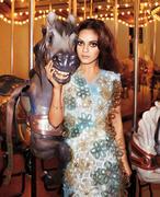 Мила Кунис, фото 1971. Mila Kunis - Harper's Bazaar April 2012 / (MQ), foto 1971,