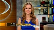 Lauren Lyster -newsperson- CBS This Morning - Jul 6 2013 HDcaps
