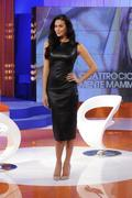 Меган Гэйл, фото 247. Megan Gale on Italian tv show 'Verissimo' - 04/11/11, foto 247