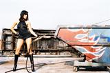 Rosario Dawson Naked on cover of magazine Foto 273 (Розарио Доусон Обнаженная на обложке журнала Фото 273)