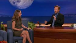 Natalie Portman - Jan 19 2011 - CONAN - HDTV vid and caps (legs)